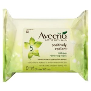 Target: Aveeno Positively Radiant Wipes Only $2.99!