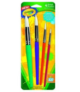 Crayola Big Paint Brushes 4-Count Pack Only $3.99!