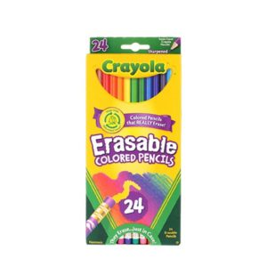 Crayola Erasable Colored Pencils 24 ct Only $2.71!