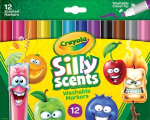 Crayola Silly Scents Washable Markers 12ct Only $4.79!! Easter Basket Filler!