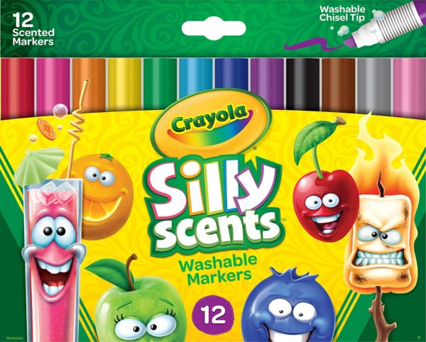 Crayola Silly Scents Washable Scented Markers