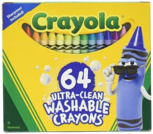 Crayola Ultra Clean Washable Crayons 64ct Only $4.31!