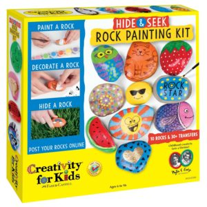 Creativity For Kids Hide and Seek Rock Painting Kit Only $11.33!