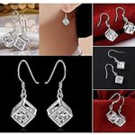 Gorgeous Crystal Box Earrings Only $1.82 + FREE Shipping!
