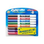 EXPO Low-Odor Dry Erase Markers, 8-Count Only $4.92!