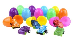 Easter Eggs with Toy Cars Inside (12-Pack) Only $6.50!