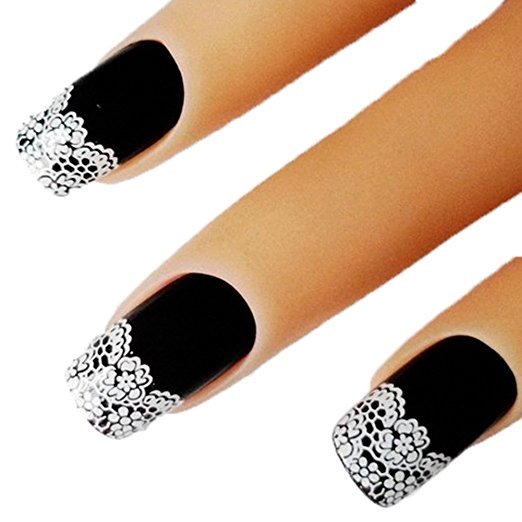 Lace Nail Stickers