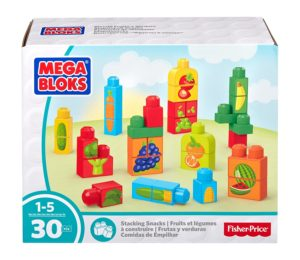 Mega Bloks First Builders Stacking Snacks Building Kit Only $5.26!