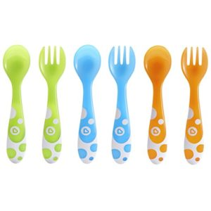 Munchkin 6 Piece Fork and Spoon Set Only $3.45!