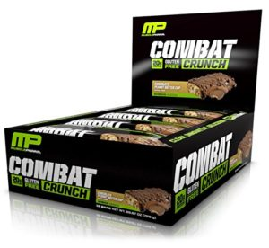 MusclePharm Combat Crunch Protein Bar 12-count as low as $11.98 Shipped! ($1/bar)
