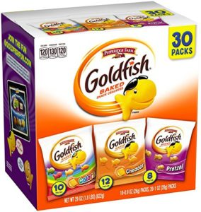 Pepperidge Farm Goldfish Variety Pack Classic Mix (30 count) as low as $8.48 Shipped!