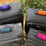 Personalized Luggage Handle Wraps Only $8.99! Great Gift Idea!