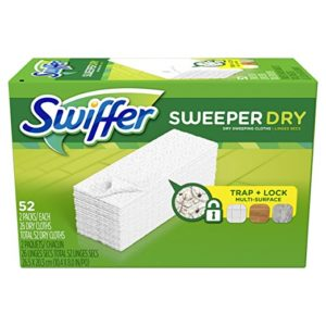 Swiffer Sweeper Dry Sweeping Pad 52 Count as low as $6.00 Shipped!