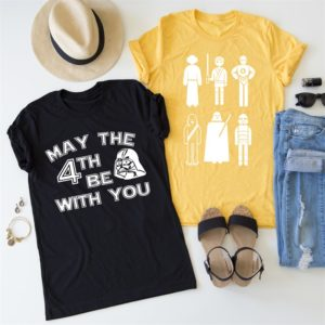 The Force Tees Only $13.99! Star Wars Day is Coming!