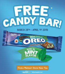 Pick Up a FREE OREO Chocolate Candy Bar at Walmart!
