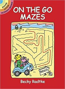 On the Go Mazes Activity Book Only $2.50!