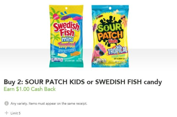 Sour patch kids or swedish fish candy as low as at for Sour swedish fish
