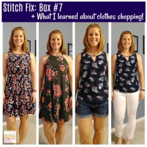 Stitch Fix: Box #7 + What I Learned About Clothes Shopping!