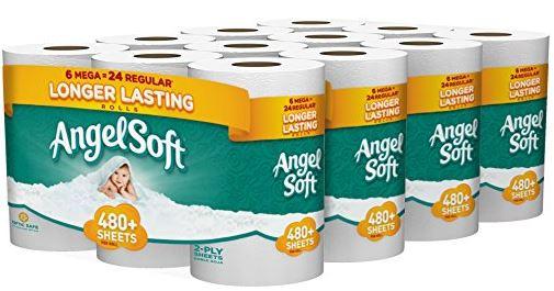 angel soft toilet paper