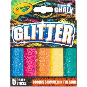 Crayola Glitter Sidewalk Chalk Only $4.04!