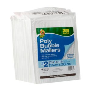 Sam's Club: Duck Brand #2 Poly Bubble Mailers as low as $3.73!