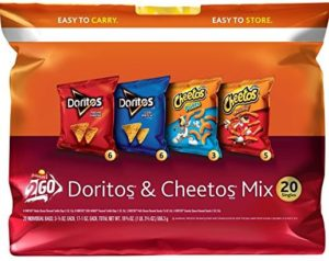 Frito-Lay Doritos & Cheetos Mix Variety Pack 20-Count Pack Only $6.98! Best Price!