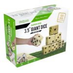 Giant Wooden Playing Dice Set with Bonus Rollzee Scoreboard - $23.47! (reg. $40)