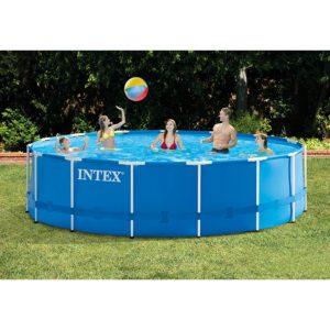 Intex 15ft X 48in Metal Frame Pool Set – $199 Shipped! Best Price!
