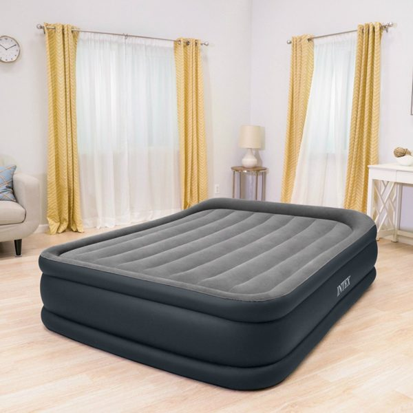 Intex Dura Beam Standard Series Deluxe Pillow Rest Raised Airbed