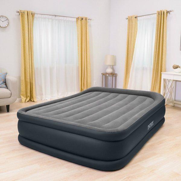 Intex Dura-Beam Standard Series Deluxe Pillow Rest Raised Airbed ...