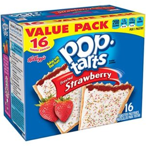 Kellogg's Frosted Strawberry Pop-Tarts 16-Count Only $2.92! Best Price!