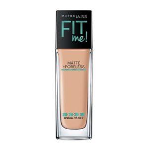 Maybelline Makeup Fit Me Matte + Poreless Liquid Foundation Makeup Only $2.98! (reg. $7.99)