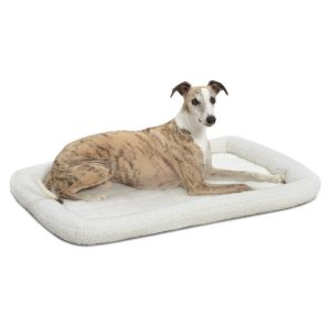 MidWest Deluxe Bolster Pet Bed for Dogs & Cats Only $10.88!