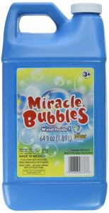 Miracle Bubbles Solution Refill, 64-Ounce Only $4.79!
