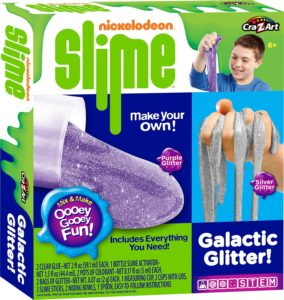 Nickelodeon Cra-Z-Slime Galactic Glitter Medium Boxed Kit Only $6.50 (Reg. $20)! Lowest Price!