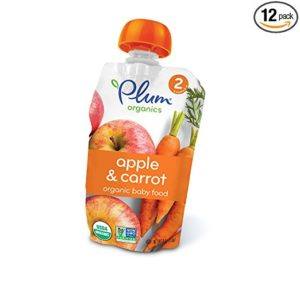 Plum Organics Stage 2 Pouches 12-packs as low as $6.48 Shipped! ($0.54/pouch)