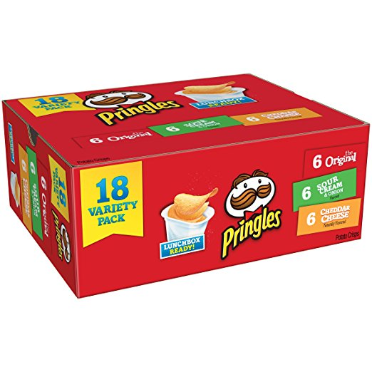 Pringles Snack Stacks 3 Flavors 18-Count Only $5.10!