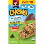 Quaker Chewy Granola Bars 18-Count as low as $2.52!