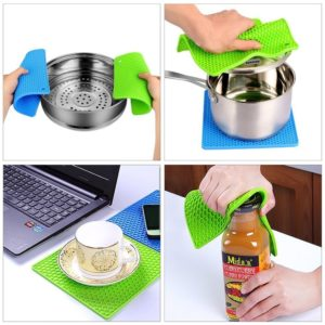 Set of 2 Silicone Pot Holders Only $4.99! Best Price!