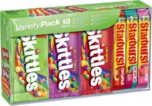 Skittles and Starburst Candy Variety Pack (18 Single Packs) as low as $8.28!