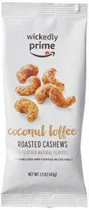 FREE Wickedly Prime Toasted Coconut Roasted Cashews after Credit!