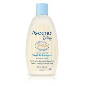FREE Aveeno Baby Wash & Shampoo at Walmart!