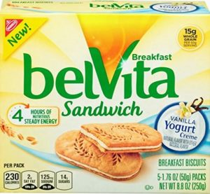 belVita Vanilla Yogurt Creme Breakfast Biscuit Sandwiches Only $2.89! Best Price!