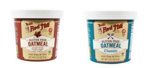 FREE Bobs Red Mill Oatmeal Cup after Credit!