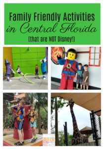 Family Friendly Activities in Central Florida that are NOT Disney!