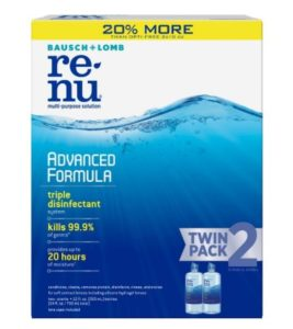 ReNu Lens Solution Multi-Purpose, 12 Fluid Ounces (Pack of 2) as low as $4.78 Shipped!