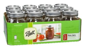 Target: Ball Mason Jars & Lids 16oz 12-count Only $3.32!!