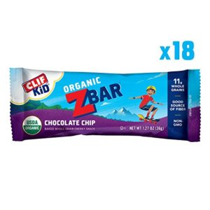 CLIF Kid ZBar 18 count as low as $9.17 Shipped! ($0.51/bar)