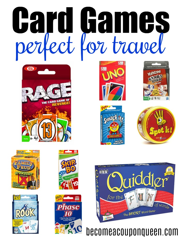 Card Games Perfect for Travel