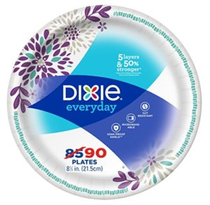 Dixie Everyday Paper Plates, 8.5 Inch, 90 Count Only $4.44!